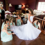 bridesmaids dress, wedding dress