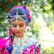 indian, makeup