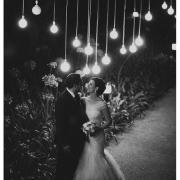 lighting, wedding dress