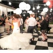 dance floor, lantern
