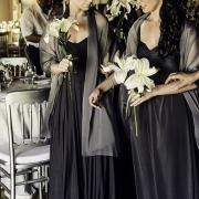 bouquet, bridesmaid dress, flowers