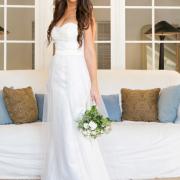 bride, wedding dress, white, wedding dress, wedding dress, bouquet