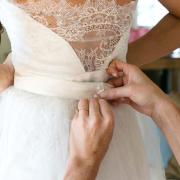open back wedding dress, wedding dress, white, wedding dress, wedding dress