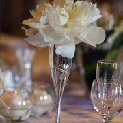 decor, flowers, table setting, white