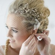 hair accessories, headpiece, veil
