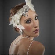 accessories, feathers, makeup