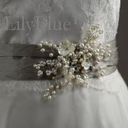 accessories, wedding dress, brooch
