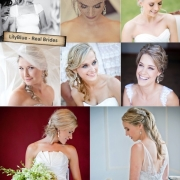 bride, wedding dress, hair styles