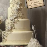 4 tier cake, cake