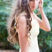 design, photography, wedding dress, yellow