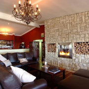 fireplace, living room