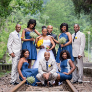 bridal party, bridesmaids, groomsmen