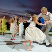 dance floor, flower girl, dance, photography, videography