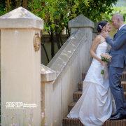 suit, wedding dress, bride and groom