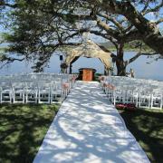 outdoor ceremony, wedding isle, gazebo, safari
