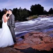 bride, groom, photography, river, safari