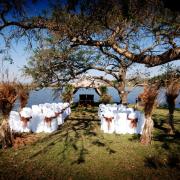 outdoor ceremony, wedding isle, wedding venue, safari