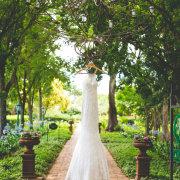 dress, garden
