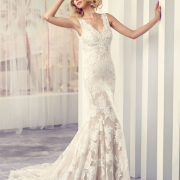 wedding dress, white, beaded dress