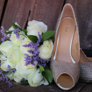 flowers, shoes