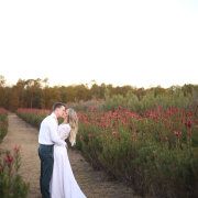 kiss, wedding dress