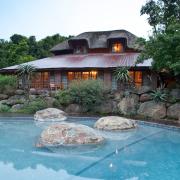 lodge, swimming pool, venue