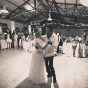 reception hall, first dance