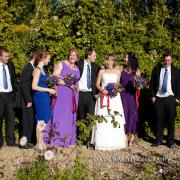 bouquet, bridesmaid dress, groomsmen