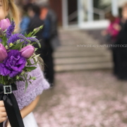 bouquet, flower girl, flowers