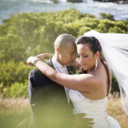 bride and groom, veil, jewellery