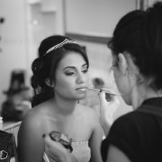 black and white, bride, hair accessories, makeup