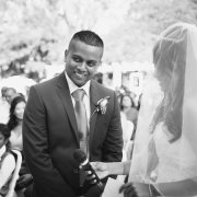 black and white, groom, suit, veil