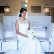 bouquet, bride, veil, lace, wedding dress