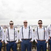 groom, groomsmen, suits