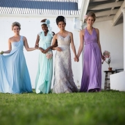 bridesmaid dress, hair styles, headpiece