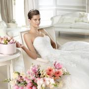 tiara, wedding dress