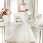 mermaid, wedding dress