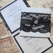 black and white, wedding invitation, wedding stationery