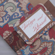 brownpaper, wedding invitation, wedding stationery