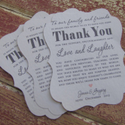wedding favour, thank you cards