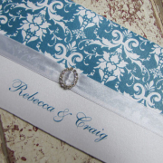 blue, pattern, wedding invitation, wedding stationery