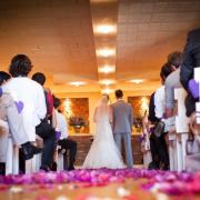 aisle, petals