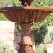 fountain, water