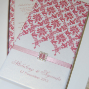pattern, pink, wedding invitation, wedding stationery