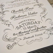 stationary, wedding invitation