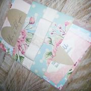 floral, wedding invitation, wedding stationery