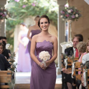 bridesmaids dress, puple