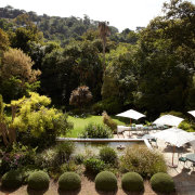 garden, pond, venue
