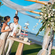 beach, ceremony