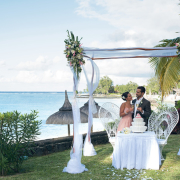 arch, beach, ceremony